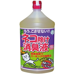 中島商事トヨチュー ネコ除け消臭液 1000ML